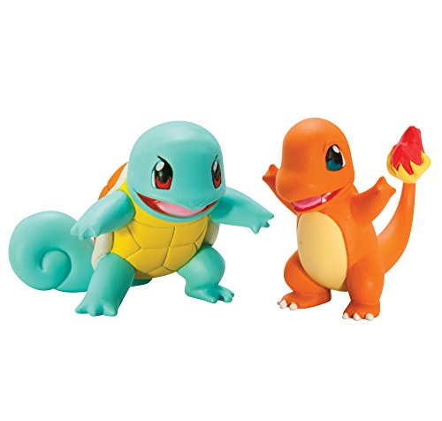 Pokémon 2 Pack Small Figures, Squirtle And Charmander Photo