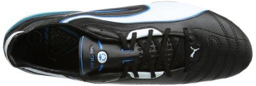 Puma 102667, Scarpe da Calcio uomo Black (Black-white-fluo Blue 07)