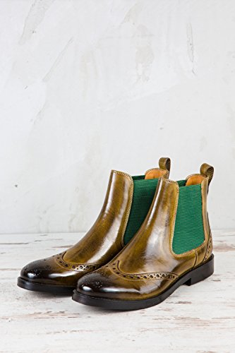 Green Hamilton Verde Chelsea Amelie Donne Melvin 5 amp; Stivali q0n6H4w