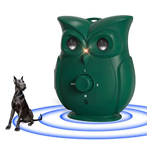 yeuk Bark Control Device, Upgraded Mini Bark Deterrents, Outdoor Anti Barking Ultrasonic Dog Bark Control Devices with 3…