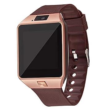 Reloj Inteligente con Bluetooth, Reloj de Pulsera 2G SIM TF ...