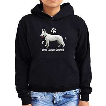 White German Shepherd 1 Women Hoodie
