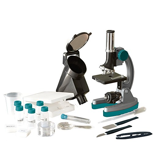 Educational Insights GeoSafari Micropro Elite 98-Piece Microscope Set (Kids Microscope Micropro)
