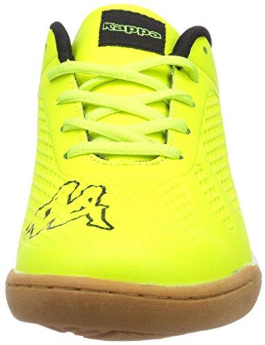 Kappa VYPER T Footwear Teens - zapatilla deportiva de material sintético infantil amarillo - Gelb (4011 yellow/black)