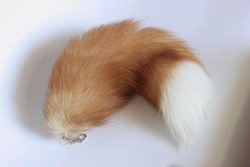 fosrion-huge-fluffy-golden-yellow-fox-tail-fur-handbag-accessery-cosplay-toy