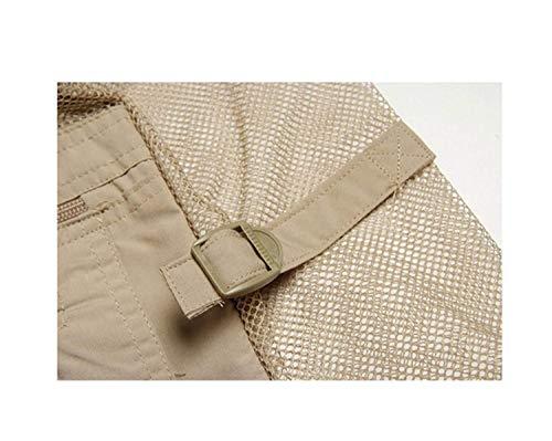 Mieuid Vest Men Air Pêcher Multi Loisir Nner Net En Couleur pochettes Pêche Photographie Chic 3 Plein r575wqRYd