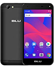 BLU Advance S5 HD – Unlocked Single Sim Smartphone, 16GB+1GB RAM -Black