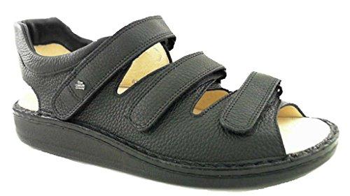 Finn Comfort sandali Tunisi Nero bovina Spona