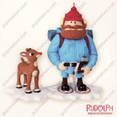 YUKON CORNELIUS AND RUDOLPH 2007 HALLMARK KEEPSAKE ORNAMENT QHC4039