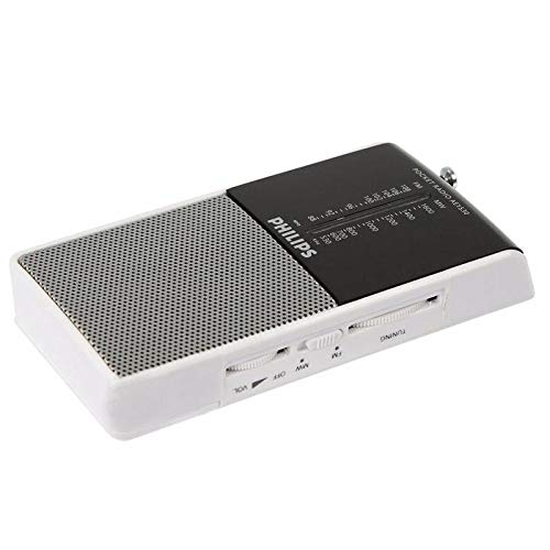 Philips Portable Radio AE1530 FM//MW Analog Tuning Built-in Speaker Headphone Jack Battery Operated