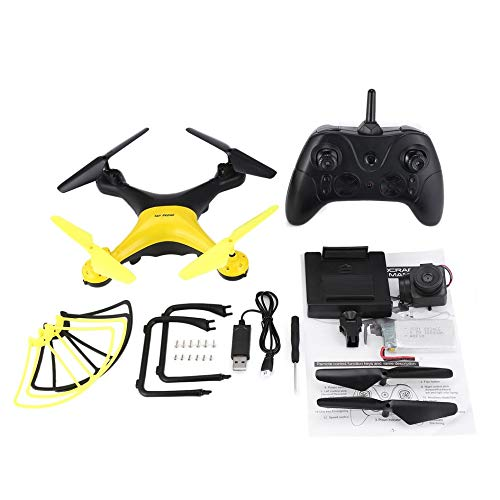 Mountxin X35SH 2.4G Quadcopter RC-Drohne mit FPV-Kamera 20min Langer Flughöhengriff - Schwarz und Gelb