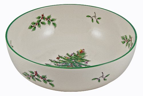 (Spode Christmas Tree Individual Fruit Bowl )