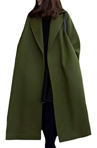 Wool Belted Military Coat - 6