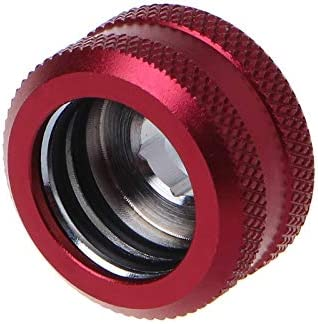 Blade Color: Red Rarido Water Cooling G1//4 Thread OD 16mm Rigid Hard Tube Extender Connector Fittings for Computer Water Cooling