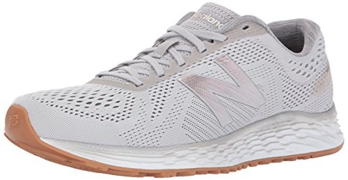 New Balance Women's Fresh Foam Arishi v1 Running Shoes, Light Grey, 8.5 B US