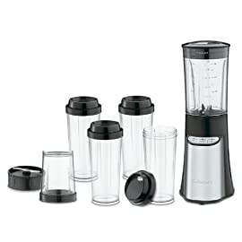 Cuisinart CPB-300 SmartPower 15-Piece Compact Portable Blending/Chopping System 28 Powerful 350-watt motor with a sleek electronic touchpad and LED indicator lights ABS housing with stainless steel front panel Standby Mode; Safety interlock and Auto Stop features
