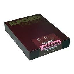 Ilford Multigrade FB Fiber Based Warmtone VC Variable Contrast Black & White Enlarging Paper - 5x7\