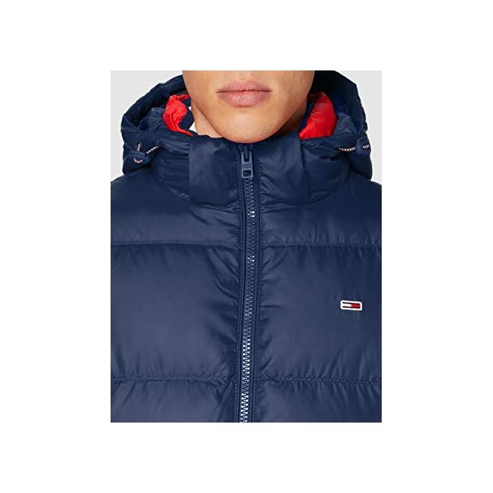 41EqWq4iMeL Tommy Jeans ropa exterior para hombre Este producto se ha producido de forma sostenible 98% Algodón, 2% Elastano