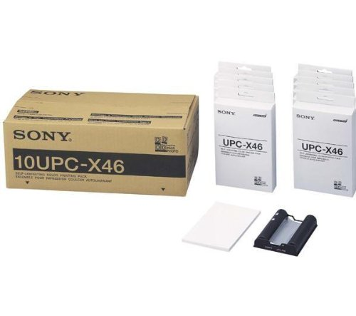 "10UPCX46 'Sony"" 10-pack Color Print Passport Media"