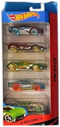 Hot Wheels X-Raycers 5 Pack Die Cast Cars by Hot Wheels: Amazon.es ...