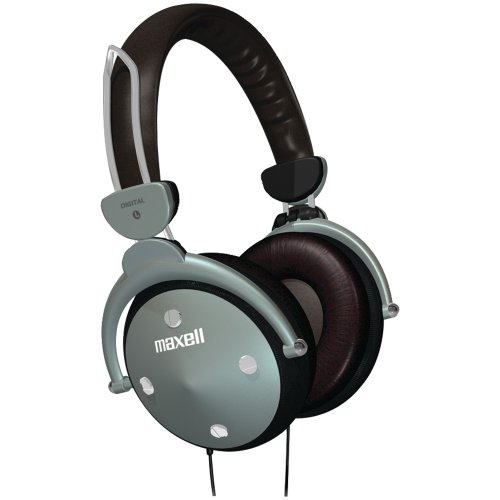 MAXELL 190562 Full-Cup Folding Digital Headphones Consumer (Maxell 190562 Full Cup Folding)