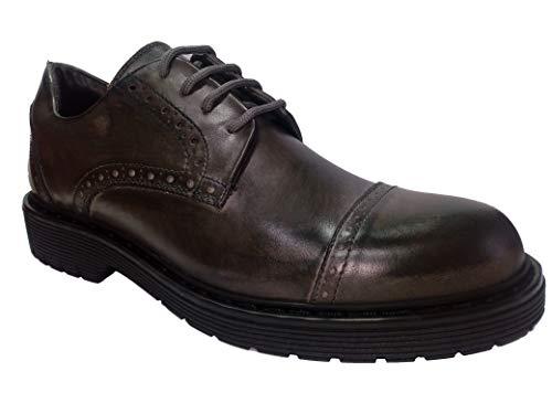 Weenchester Scarpe Uomo Sneaker Classico Eleganti Sportive in Pelle Grigio tg 40