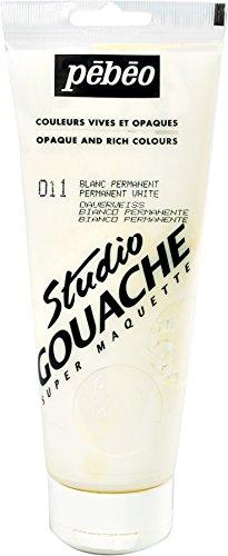 Studio Gouache 220-Milliliter, Permanent (Gray Gouache)