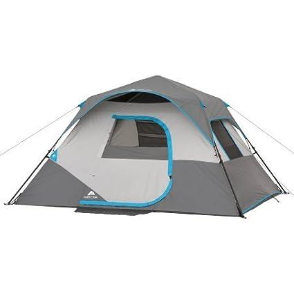 Amazon.com  Ozark Trail 10u0027 x 9u0027 x 66  6-Person Instant Cabin Tent  Sports u0026 Outdoors  sc 1 st  Amazon.com & Amazon.com : Ozark Trail 10u0027 x 9u0027 x 66