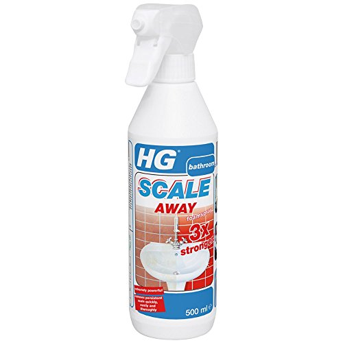 HG Hagesan HG Scale Away Foam Spray 3x Stronger - Removes persistent scale...