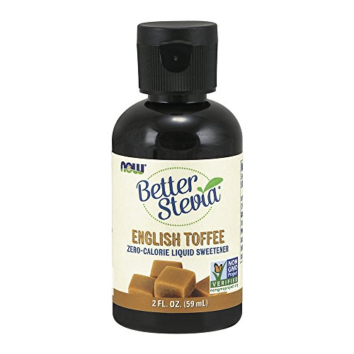 Stevia Toffee - NOW Foods Liquid Stevia, English Toffee, 2-Ounce