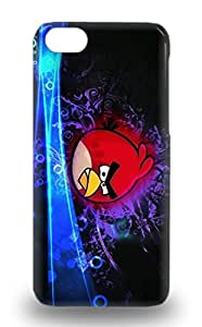 Scratch Free Phone Case For Iphone 5c Retail Packaging American Angry Birds 4675799M49663141