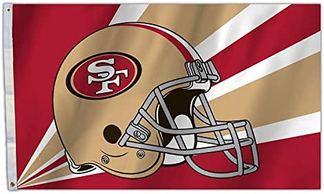 separation shoes 10dc4 78187 RongJ- store NFL 3-Foot by 5-Foot Banner Champion Flag (San Francisco 49ers)