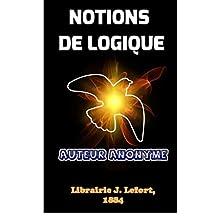 Notions de Logique (French Edition)