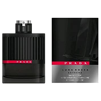 9517a07aa0a4 Amazon.com : Prada Luna Rossa Extreme Eau De Parfum Spray for Men, 3.4  Fluid Ounce : Beauty