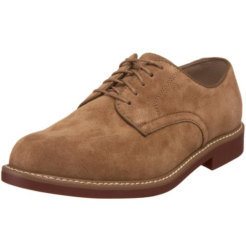 Bass Men's Brockton Oxford,Taupe Suede,10 M US