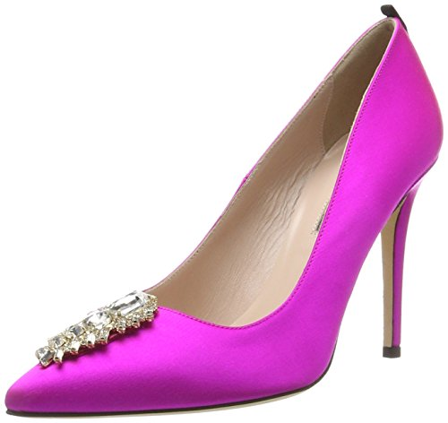 Parker Tacco Tempest SJP Scarpe Donna Jessica con Sarah Rosa by Candy Satin wqn7r7x0t