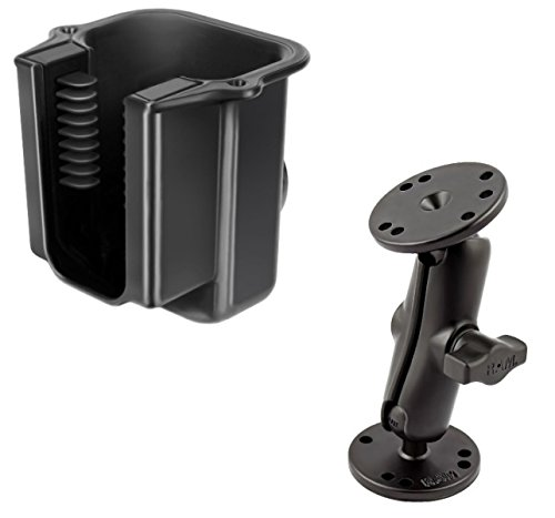 Flat Surface Desktop Mount Holder w/Power-Grip Universal Scanner Gun Holder by RAM (Image #1)
