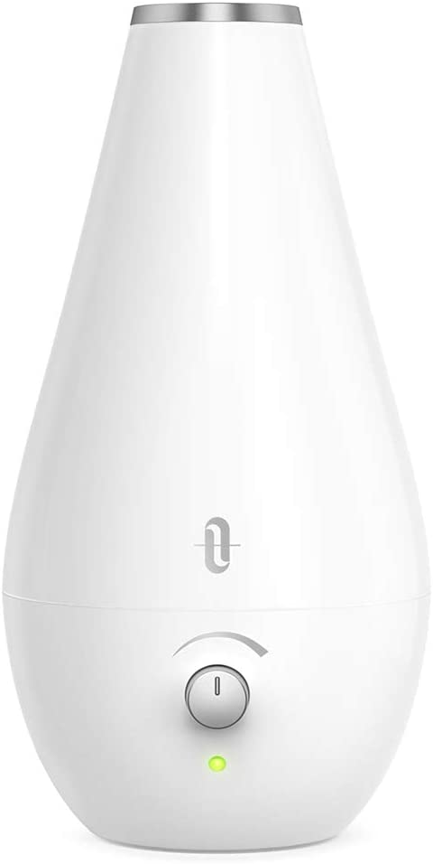 TaoTronics Cool Mist Humidifiers for Babies BPA Free , 1.8L Quiet and Small Ultrasonic Humidifier for Bedroom Nightstand, Space-Saving, Filterless, Auto Shut Off- 0.48 Gallon, US 110V