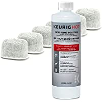 Keurig Six Water Filter Cartridges & Keurig Descaling...