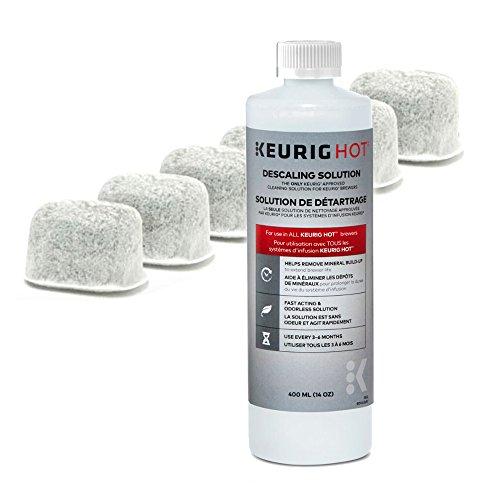 Keurig Filter Cartridges Descaling Solution