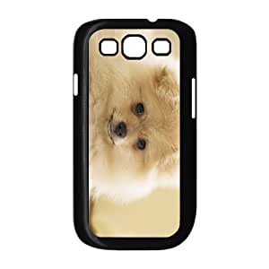 TOSOUL Phone Case Pomeranian Hard Back Case Cover For Samsung Galaxy S3 I9300