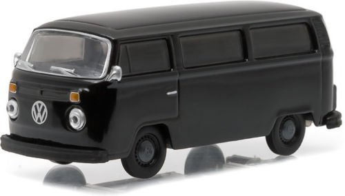 1978 VOLKSWAGEN TYPE 2 * Black Bandit Collection Series 14 * 2016 Greenlight Collectibles Limited Edition 1:64 Scale Die-Cast Vehicle (Hot Wheels Vw)