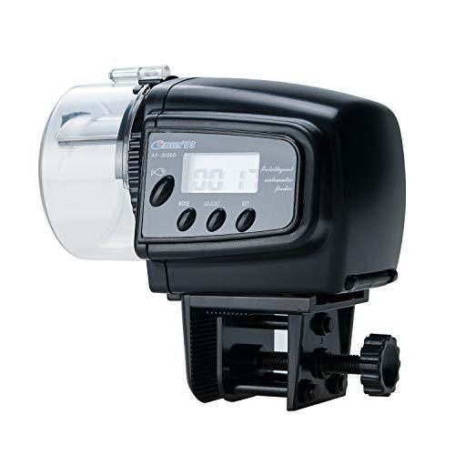 (Songway Automatic Fish Feeder Aquarium Tank Auto Fish Timed Feeder/Adjustable Fish Food Dispenser/Auto Fish Food Timer Feeder for Vacation Weekend (AF-2009D))