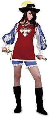 Disfraz de Mosquetera para mujer talla M-L: Amazon.es: Juguetes y ...