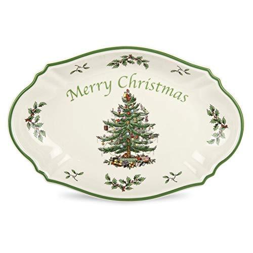Spode Christmas Tree Merry Christmas Tree Tray]()