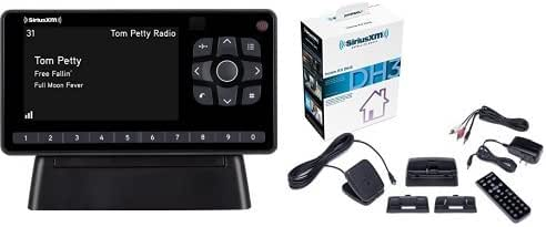 SiriusXM SXEZR1H1 XM Onyx EZR Satellite Radio Receiver with Home Kit + SXDH3 Satellite Radio Home Dock Kit with Antenna and Charging Cable