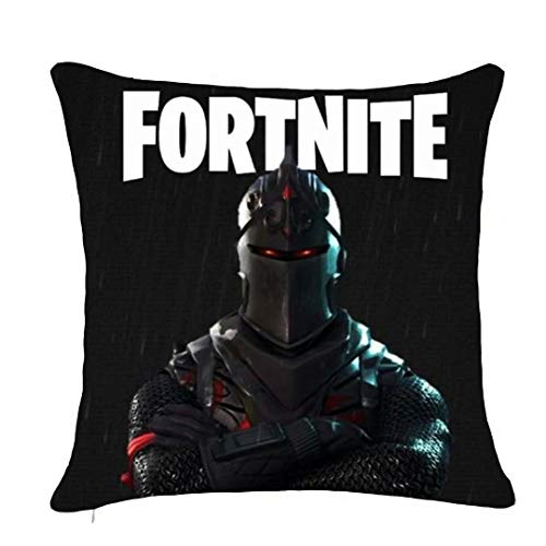 Price comparison product image RAIN HEART Decorative Throw Pillow Covers 18x18 inch Square Peach Skin Cushion for Sofa Bedroom Car Set of - Fortnite