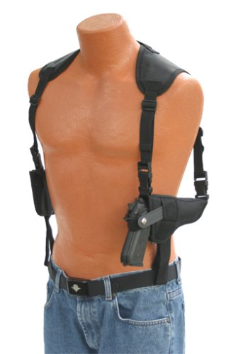 Pro-Tech Outdoors Gun Shoulder Holster for Smith and Wesson M&P Shield 9mm with Laser