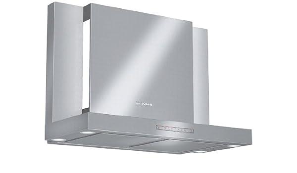 Bosch DWB099752 De pared Acero inoxidable 820m³/h - Campana (820 m³/h, Canalizado/Recirculación, De pared, Acero inoxidable, 20 W, 4 bombilla(s)): Amazon.es: Grandes electrodomésticos