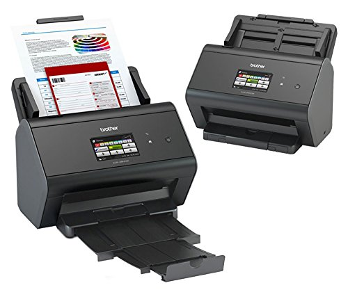 Brother ImageCenter ADS-2800W Sheetfed Scanner - Wireless...